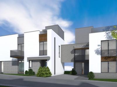 Casa tip duplex cu terasa circulabila 55 mp si priveliste zona Andrei Muresanu